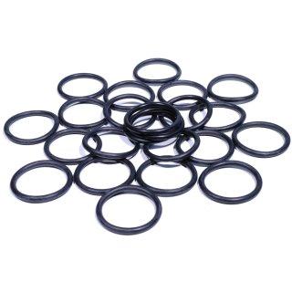 24 rubber rings for footpegs Sundance o-ring Harley Honda Suzuki universal