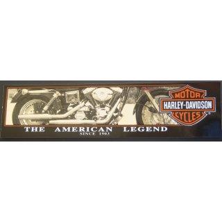 Harley Davidson Aufkleber 30 x 8 cm Amerikanische Legende American Legend XL