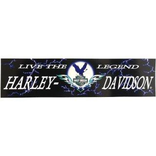 Harley Davidson Aufkleber Lebe die Legende 30 x 8 cm Live the Legend Thunder