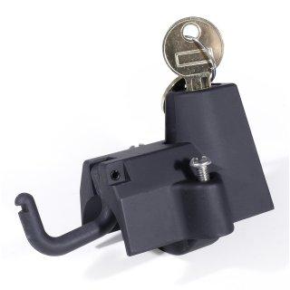 """Helmschloss Schwarz 32mm 1-1/4"""" für Harley Suzuki Honda Universal Sturzbügel"""