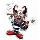 Aufkleber Clown Bombe Grässlich Sticker Decal...