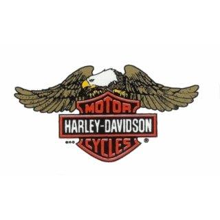 Harley Davidson Adler Fenster Aufkleber 22 x12 cm Windshield Eagle B +S Window