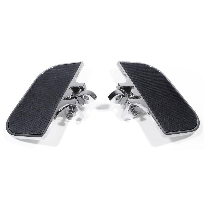 Fußrasten Halterung hinten Sozius schwarz für Harley Softail Twin Cam Sportster