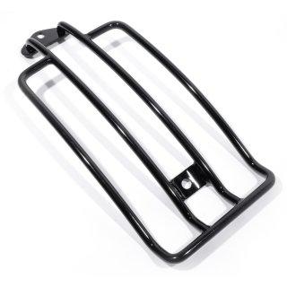 Gepäckträger schwarz für Harley Davidson Sportster -03 + Softail Slim ab 2013 mit Solositz