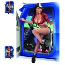 Aufkleber Set Trucker Babe LKW Sexy Pin Up Girl 16x11...