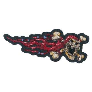 Aufnäher Piraten Totenkopf Rechts 17x6 cm Pirate Skull Right Patch
