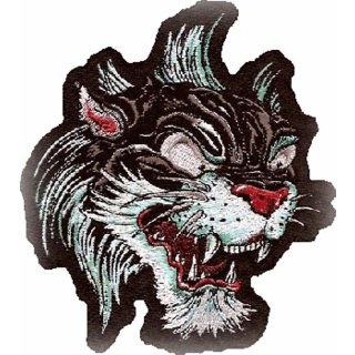 Aufnäher Panter Kopf 15x13cm Panther Head Patch Gefahr