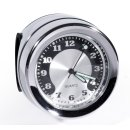 Lenkeruhr Metall Chrom Big Motorrad Uhr großes...
