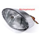 Spare Lens Clear white for Cat Eye Tail Lights Universal ECE