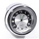 """Lenkeruhr 1-1/4"""" 32mm Metall Chrom Big Motorrad Uhr..."""