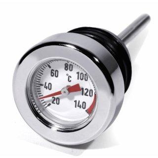 Öl Messstab Celsius Temperatur Peilstab für Harley Davidson Softail Thermometer