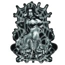 Aufkleber Sexy Spinnen Pin Up Girl Airbrush Spider Women...