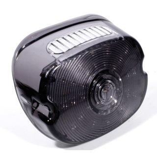 Rücklicht LED flach smoke Low Profile dunkel getönt für Harley Davidson ECE