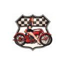 Aufkleber Vintage Ride Pin Up Girl Retro Oldtimer Classic...