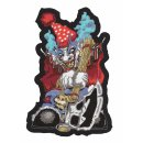 Grausamer Clown mit Axt Aufnäher 17x12 CM Ugly Ax Clown...