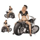 Aufkleber Set Sexy Blondine auf Bobber Pin Up Girl Decal...