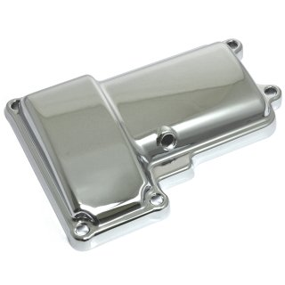 TRANSMISSION TOP COVER CHROME HARLEY TWIN CAM ROAD KING DYNA SOFTAIL TOURING 06-