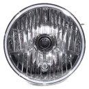 """7"""" H4 Scheinwerfereinsatz mit klarer Lichtscheibe Universal Motorrad Auto US Car"""