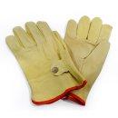 Lässige Lederhandschuhe für den Sommer XL